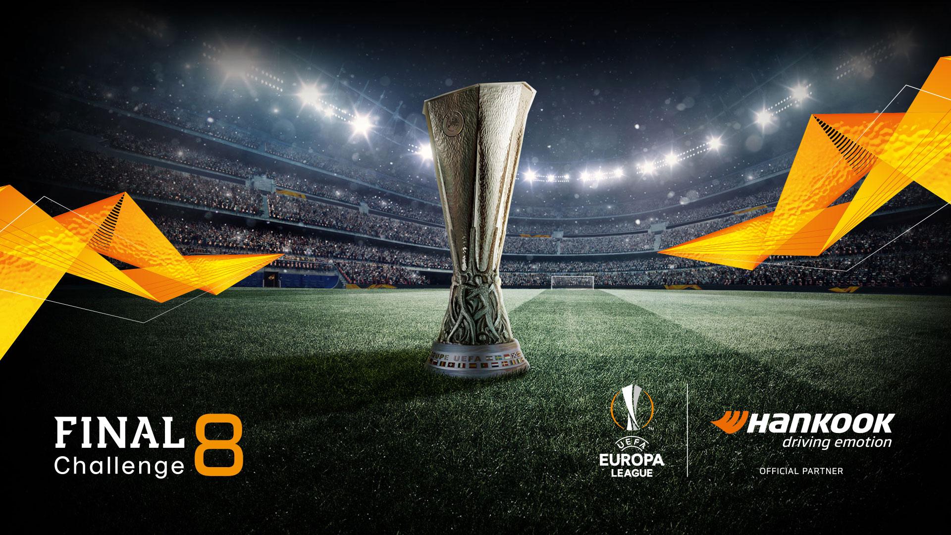 uefa europa league final 8 challenge hankook tire uefa europa league final 8 challenge